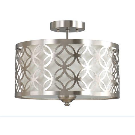 flush drum light fixture lighting drum pattern flush mount light fixtures