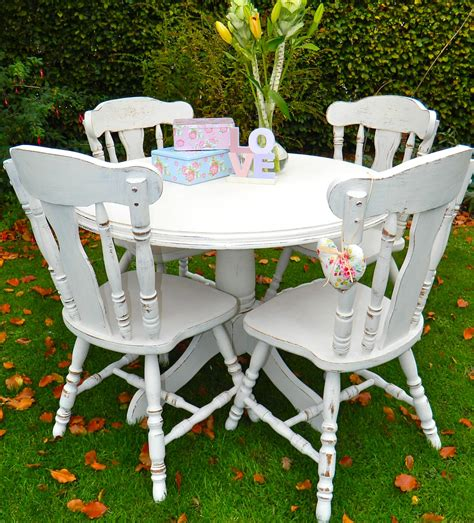 shabby chic tables and chairs top 50 shabby chic dining table and chairs home
