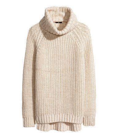 h m knit knit turtleneck sweater by h m sweaters