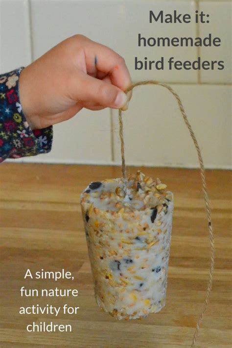 for preschoolers to make bird feeders growing family