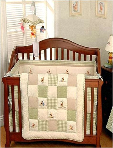 pooh crib bedding set winnie the pooh crib bedding set home design