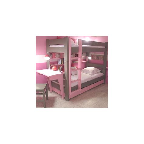 childrens bunk bed with desk bunk bed drawers desk mathy by bols cuckooland