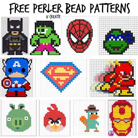 perler bird patterns free perler bead patterns for u create