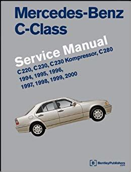 mercedes benz c class w202 service manual 1994 1995 1996 1997 1998 1999 2000 c220