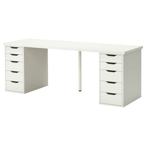 alex desk ikea linnmon alex table white the white tables and ikea desk