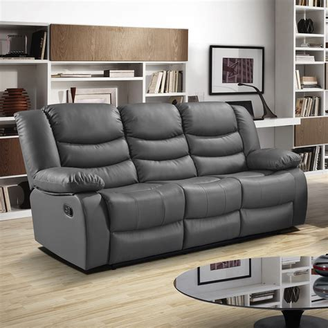grey sofa recliner grey recliner sofa fortuna gray power reclining sofa