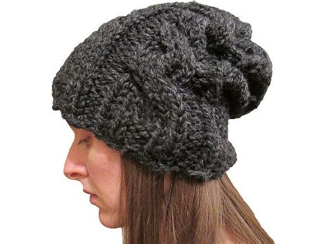 cable knit slouchy hat pattern 1000 images about knit slouchy hat s i on