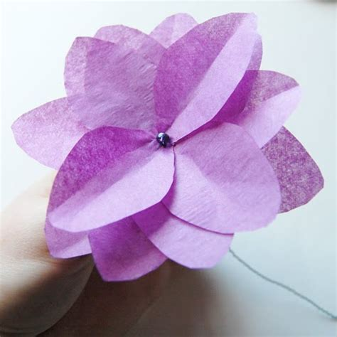 flower tissue paper craft the craftinomicon more tissue paper flowers