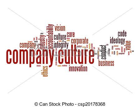 stock image of company culture word cloud csp20178368