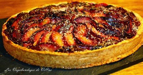 recette tarte aux prunes de chouchou
