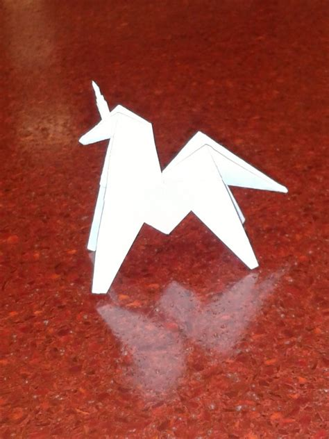 how to make an origami unicorn origami unicorn by aceofsongs on deviantart