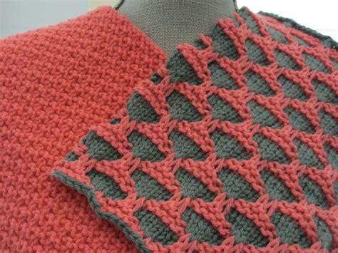 mosaic knitting stitch mosaic knitting knitspiration