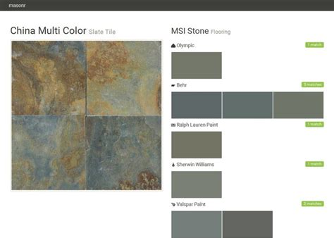 matching behr paint colors to valspar 220 best 2016 msi images on tile