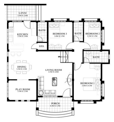 how to design floor plans marcela elevated bungalow house plan php 2016026 1s