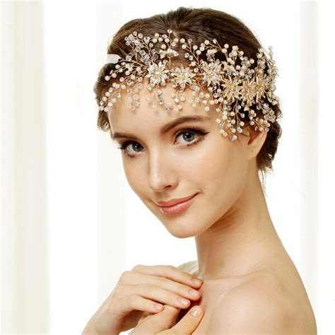 how to make headpiece jewelry gold 100 handmade swa element diamante tiaras