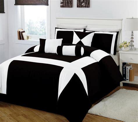 bed bedspreads handsome black and white comforter minimalist bedroom