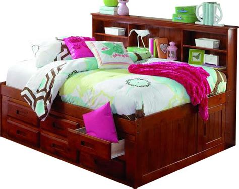 trundle bed with bookcase headboard custom furniture daybeds with bookcase headboard