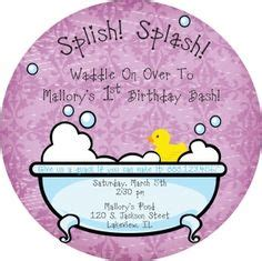 sweet rubber st rubber ducky invitation for a baby shower or birthday