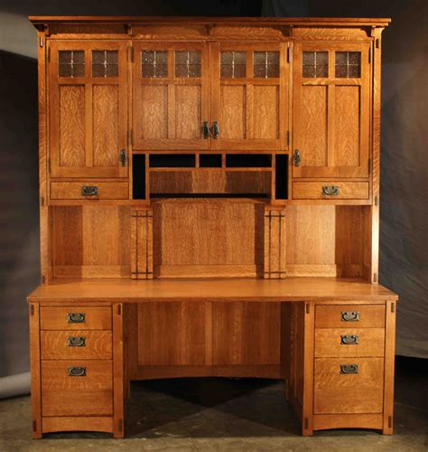 hutch style computer desk mission style computer desk with hutch whitevan