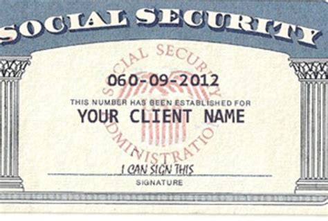 make social security card modify any document create novelty social security card