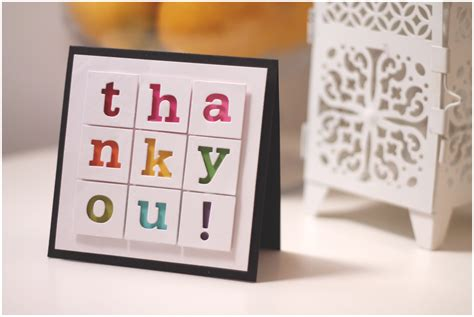 ideas for thank you cards paper crafts magazine world card day hop