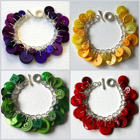 easy to make jewelry 11 easy diy buttons jewelry projects jewelry from