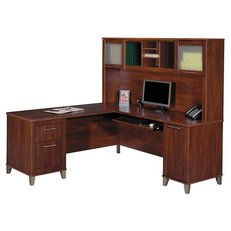 office desk with hutch l shaped woodwork l shaped computer desk with hutch plans pdf plans