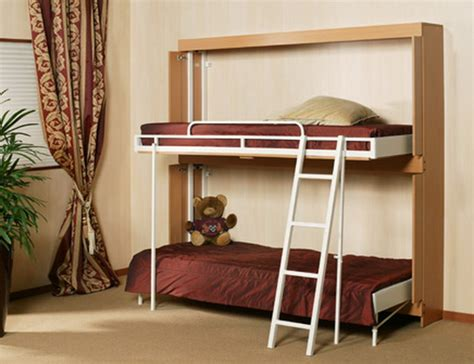 wall mounted bunk beds bedroom nursery wall mounted bunk beds for small