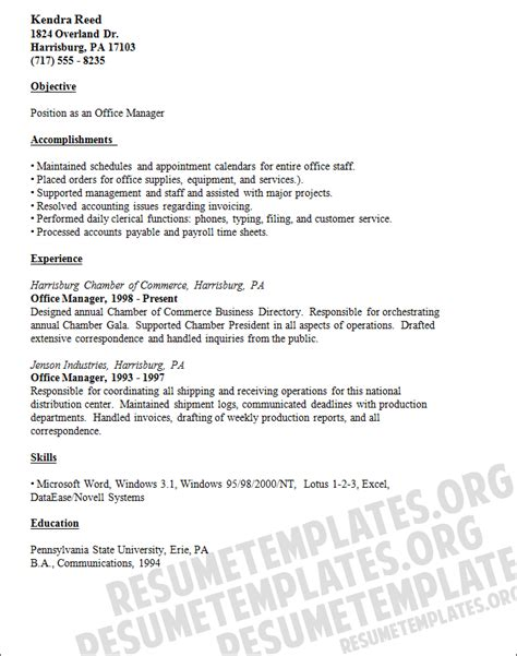 medical office manager resume examples quotes