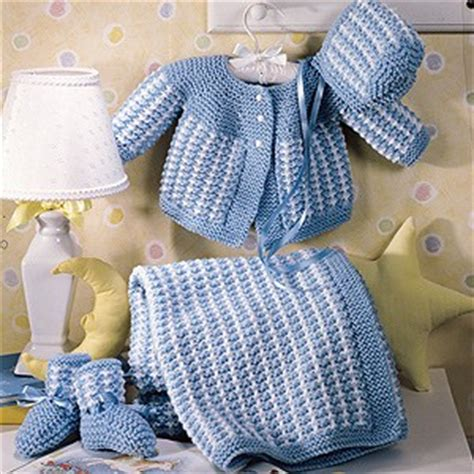 baby sets knitting patterns precious knitted baby layette knit epattern leisurearts