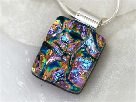 how to make dichroic glass jewelry at home getglassy glass jewelry and gifts
