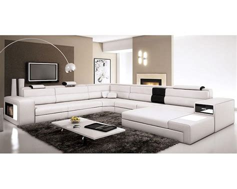 contemporary sectional leather sofa contemporary leather sectional sofa 44l5963