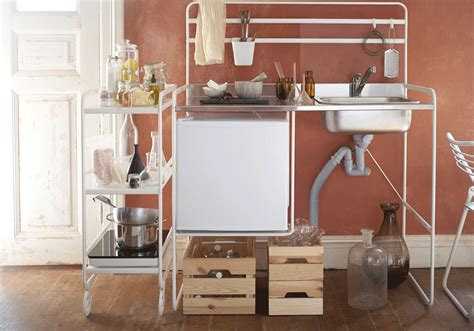 ikea small space living the one metre ikea kitchen that will change small space living