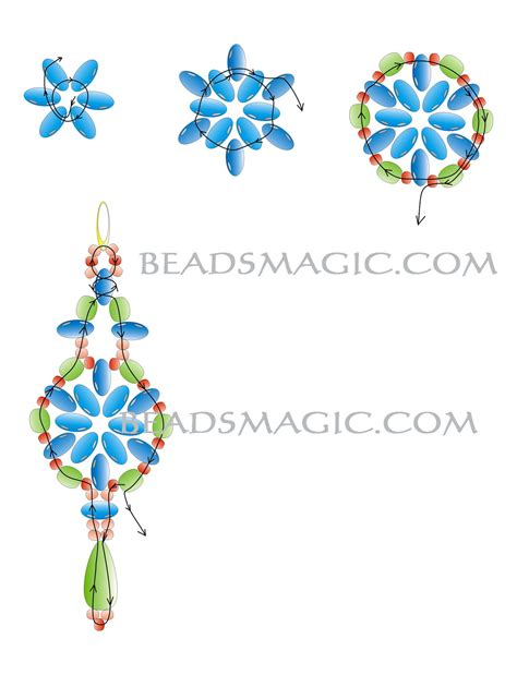 free printable seed bead patterns free pattern for beautiful beaded earrings elvira