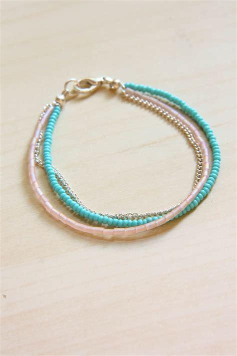 seed bead bracelet tutorial summer seed bead bracelet diy tutorial