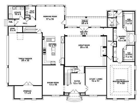 4 bedroom ranch floor plans bedroom house plans 4 bedroom open affordable 4 ranch simple one story brick floor style with