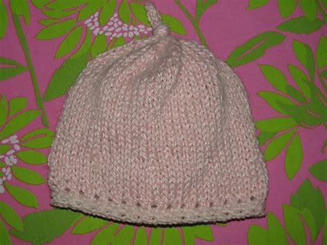 easy knit newborn hat pattern easy baby hat knitting pattern knitnscribble