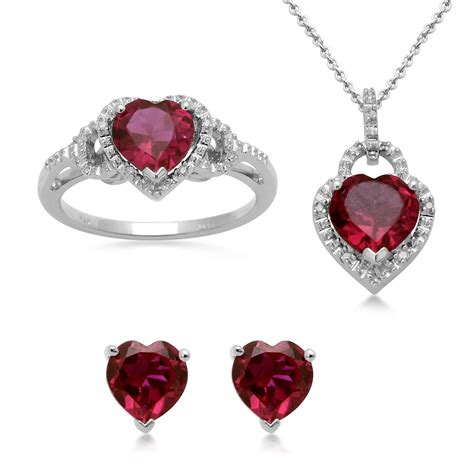 earring pendants jewelry ruby ring ruby ring necklace set