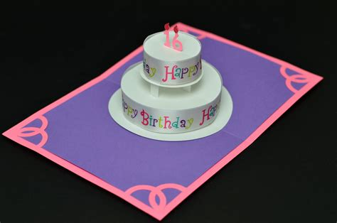 how to make pop up birthday cards for steps for make pop up birthday cards model new calendar