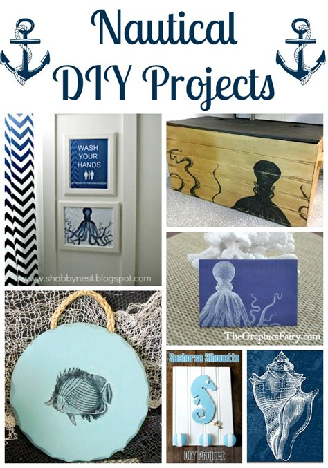 nautical craft projects 18 nautical diy projects the graphics