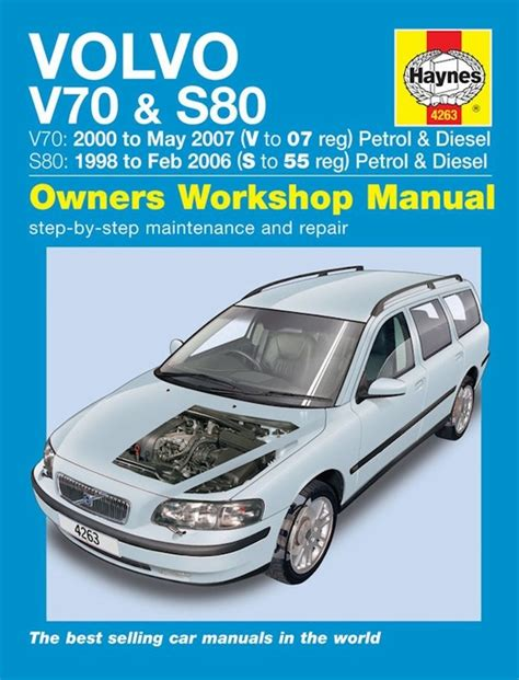 what is the best auto repair manual 2007 volvo v50 parking system volvo v70 s80 repair manual 1998 2007 haynes 4263