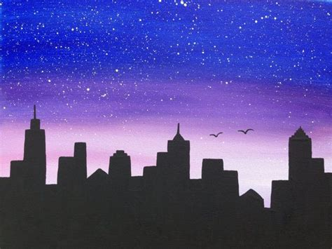 spray paint city skyline 25 best ideas about skyline painting on city