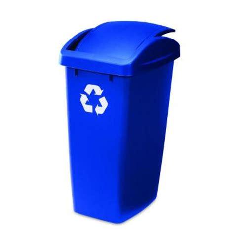 home depot paint waste 12 5 gal swingtop recycle bin