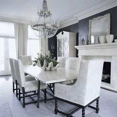 black and white dining room chairs great decoration black and white dining room design