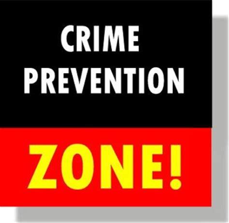 crime zone crime prevention unit