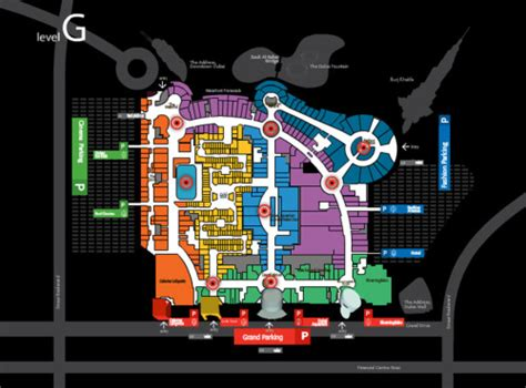 dubai mall floor plan archive of affinities