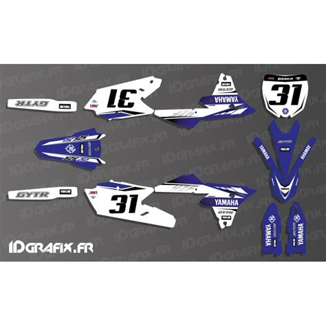 kit decoration yamaha factory 2017 replica yamaha yz yzf