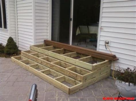 patio door design ideas best 25 deck steps ideas on diy storage