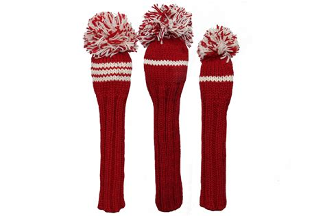 knit golf headcovers classic knit golf headcover set knitted golf headcover