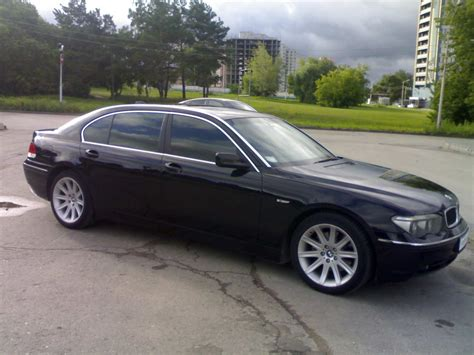 2003 Bmw 7 Series by 2003 Bmw 7 Series Pics 4 4 Gasoline Fr Or Rr Automatic